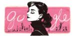 Audrey Hepburns Google Doodle