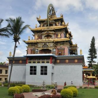 Tibetan Monastery at Bylakuppe