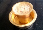Coffee served in traditional Dabara  Tumbler
