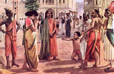 Raja Harischandra selling his family