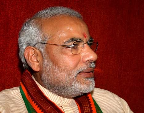Narendra Modi, the Chief Minister of Gujrat