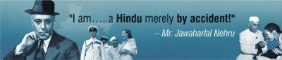 Nehru disowning Hinduism!