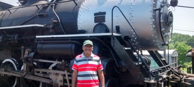 Rendezvous with a vintage steam engine
