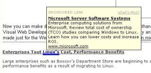 Linux-Microsoft Link